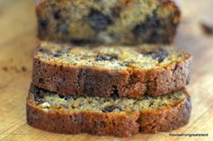 Chocolate Chip Banana Bread, the kind your mom or grandma used to make, upgraded with dark chocolate chips!