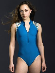 Eleve Leotard Style: Michelle, Sleeve length: Barely over shoulder