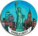 Statue of Liberty Kitchen Magnet