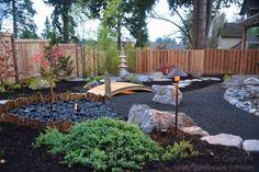 Asian Garden / Japanese Garden - asian - Landscape - Portland - Lewis Landscape Services, Inc.