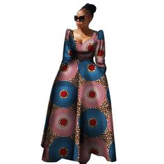 plus size long dress African Clothing for at Diyanu African Dresses For Kids, Latest African Fashion Dresses, African Dresses For Women, African Print Dresses, African Print Fashion, African Attire, African Dresses Plus Size, Africa Fashion, Modern African Clothing