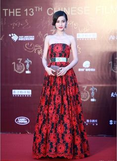 Fabulously Spotted: Angelababy Wearing Alice + Olivia - The 13th Chinese Film Media Awards - http://www.becauseiamfabulous.com/2013/08/angelababy-wearing-alice-olivia-the-13th-chinese-film-media-awards/