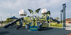Featured Playground - Ankeny Miracle Park - All Inclusive Playground & League Field - Ankeny, Iowa