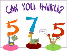 The 'Haiku You!' lesson on UClass.org! In this lesson, students create their own haiku poems while focusing on the number of syllables.. Find the best Common Core lessons created by teachers, assign work to your students, and connect your class to the world.