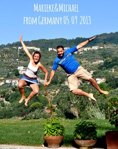 Marieke&Michael-from-Germany-05_09_2013 jump for Forestarìa