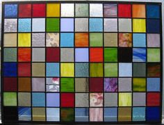 Stained Glass Quilt by etsy seller Kyle Schumacher. Imagine this over a skylight or kitchen window!
