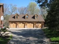 30' x 44' Custom Garage - Beautiful Custom two story garage by Amish builders Homestead Structures