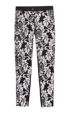 Chico's Classic Tapestry Getaway Ankle Pant