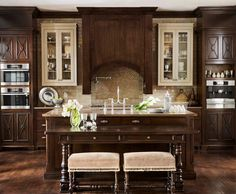 French-Inspired Family Home with a stunning Kitchen! #Kitchen