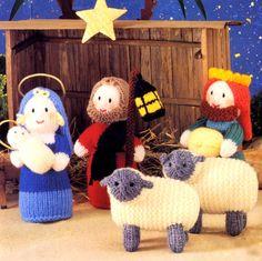 Free Knitting Pattern Nativity Set : Make It: Christmas Nativity Scene - Free Knitting Pattern #knitting #ravelry ...