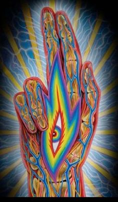 Healing Tip: Make sure to clear your palm chakras after you disconnect from a healing as this energy can still continue to flow here.