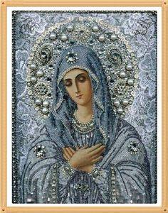 Wholesale DIY Diamond Paintings cross stitch Embroidery virgin hug Jesus Home Decoration Rhinestone Wall Stickers Needlework zx