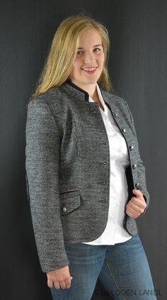Trachtige Herbst Damen Kombinationen - bei Loden Landl Blazer, Sweaters, Fashion, Fall, Jackets, Moda, Sweater, Fasion, Pullover