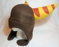 Ratchet and Clank Inspired Ratchet Fleece Hat -MADE TO ORDER-