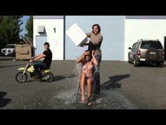 Supernatural ALS Ice Bucket Challenge - Jared & Jensen