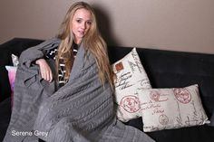 100% ORGANIC cotton cable knit throw blanket in six delightful colors - luxurious, pure, comfortable, warm, super soft, natural, eco-friendly, non GMO,
