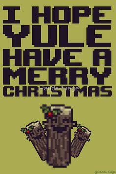'I hope yule have a Merry Christmas' by Panda-Siege I Hope, Yule, Pixel Art, Panda, Merry Christmas, Xmas, Merry Little Christmas, Wish You Merry Christmas, Christmas