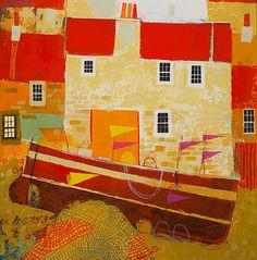 Scottish Artist George BIRRELL - Marker Flags