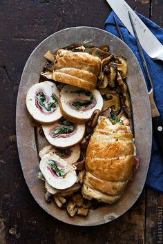 Prosciutto-Stuffed Chicken