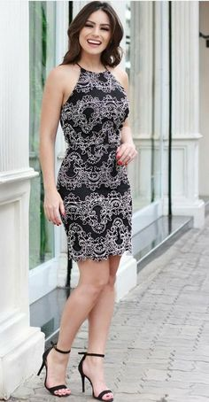 35 Cute Casual Dress For Women's Sexy Dresses, Cute Dresses, Casual Dresses, Short Dresses, Vintage Style Dresses, Chic Outfits, Dress Outfits, Modest Fashion, Fashion Dresses