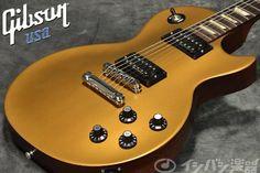 Gibson ギブソン エレキギター Les Paul '70s Tribute Min-ETune Vintage Gloss Gold Top Dark Back GIBSON http://www.amazon.co.jp/dp/B00GAW8NMO/ref=cm_sw_r_pi_dp_47sfvb01TJNP7