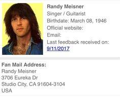 Randy Meisner, Eagles, Midlife Crisis, Singer, Nebraska, Musicians, Bands, Classic, Derby