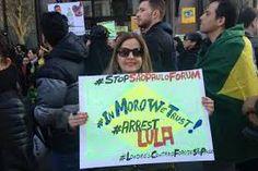 Resultado de imagem para manifestações brasil no exterior