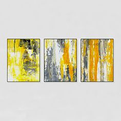 Hand-Painted Abstract Modern,One Panel Canvas Oil Painting 5099329 2017 – $130.39