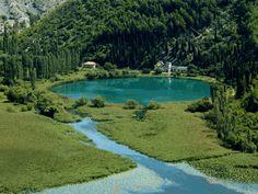 Krka National Park near Sibenik, Dalmatia, Croatia