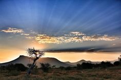Karoo sunset, South Africa