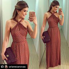 @arianecanovas linda! Com o nosso dress Coleção MEMÓRIAS!! #muitoamor ❣
