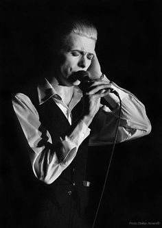 Catto Gallery   Stefan Almers David Bowie photographs   David Bowie No 6