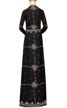 Buy Vilshenko Women's Black Florence Printed Silk-Crepe Maxi Dress, starting at $2130. Similar products also available. SALE now on!