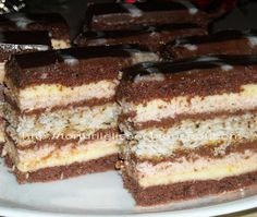 Lissa`s Cakes: Prajitura ''lissa'' Food Cakes, Nutella, Tiramisu, Cake Recipes, Biscuits, Ice Cream, Sweets, Cooking, Ethnic Recipes