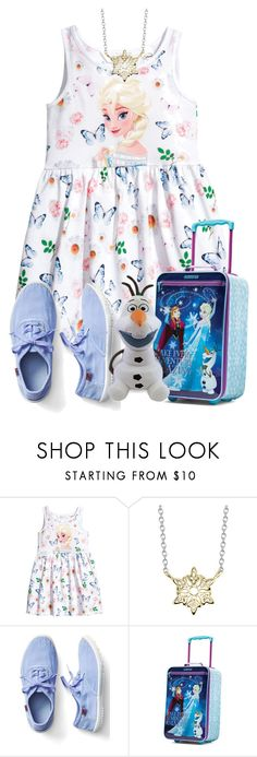 """""""Frozen Characters"""" by tlb0318 ❤ liked on Polyvore featuring Disney, Gap and American Tourister"""