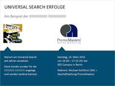 PromoMasters Online Marketing – Google+ Berlin, Online Marketing, Workshop, Chart, Google, Search Engine Optimization, Atelier, Work Shop Garage