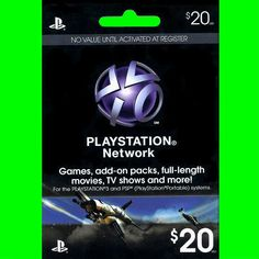 $20 US PlayStation Network Store PSN Gift Card for PS4, PS3, PS VITA, PSP -FAST!  http://searchpromocodes.club/20-us-playstation-network-store-psn-gift-card-for-ps4-ps3-ps-vita-psp-fast-36/