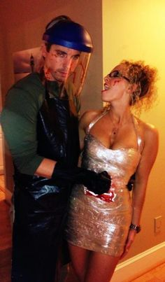funniest halloween costumes for men: Dexter Costume. Gallery Collection, we post photos of your favorite Halloween Costumes Source by Dexter Costume, Dexter Halloween, Halloween Costumes 2014, Couple Halloween Costumes, Holidays Halloween, Spooky Halloween, Happy Halloween, Halloween Party, Halloween Ideas