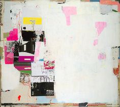 Ping Pong by Michael Cutlip - mixed media on panel