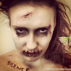scary makeup for Halloween - Halloween Costumes 2013