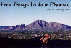 This list of free stuff to do in Phoenix is actually for the Greater Phoenix and surrounding areas. Some will be in Phoenix, while others are further out. This list covers parts of Scottsdale, Temp...