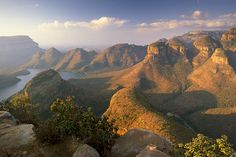 What a view! The Blyde River Canyon and the three rondavels, Mpumalanga in South Africa is our Photo of the Day. Photographer: Patrick Dieudonne