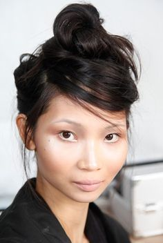 Hair at Katie Gallagher's Spring '13 Presentation