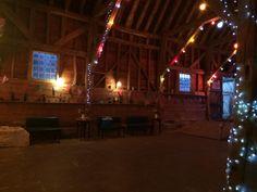 Chapel Barn festive den