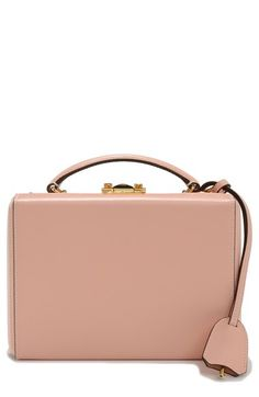 Mark Cross 'Small Grace' Saffiano Leather Box Bag available at #Nordstrom