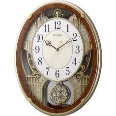 Men Watches - CITIZEN メロディアミューズ時計 パルミューズプラウド 木目仕上げ 4MN512-023 | 最新の時間センター