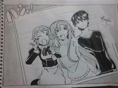 Lisa, Asuna e kirito do anime Sword Art Online