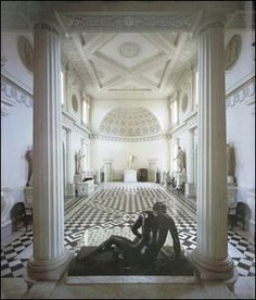 Neoclassicism in Architecture: A revival of Classical Architecture in the late 18th century. It is characterized by grandeur of scale, Greek and Roman detail, as well as simplicity and geometric forms