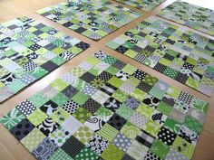 innovative tutorial for postage stamp quilt by elizabeth hartman Quilting Tips, Quilting Tutorials, Quilting Designs, Quilting Projects, Modern Quilting, Sewing Projects, Scrap Quilt Patterns, Pattern Blocks, Gingham Quilt