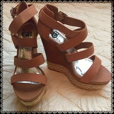 Check this item I am selling on Totspot, the resale shopping app for families.   🎉Editor's Pick🎉Gianni Bini Wedges Gianni Bini  Love this! #kidsfashion #familyfashion